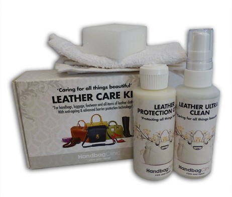 Leather Handbag Care Kit By Furniture Clinic Labels Most Wanted