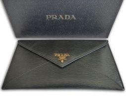 prada-black-envelope-wallet