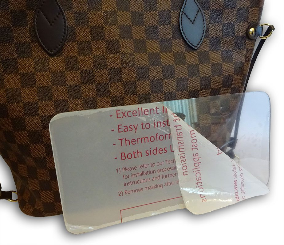 fe8777045661 Base shaper to fit Louis Vuitton neverfull MM bag in 2mm clear ...