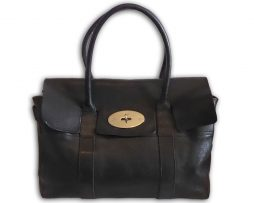 Mulberry oak natural grained leather small clipper holdall travel ... 45c1bfa84e9ca