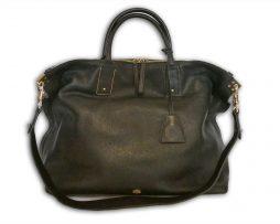 d30c14d99ab3 ... sweden mulberry black small classic grain leather large alice zipped  tote shoulder bag receipt 5fad9 cc7d8