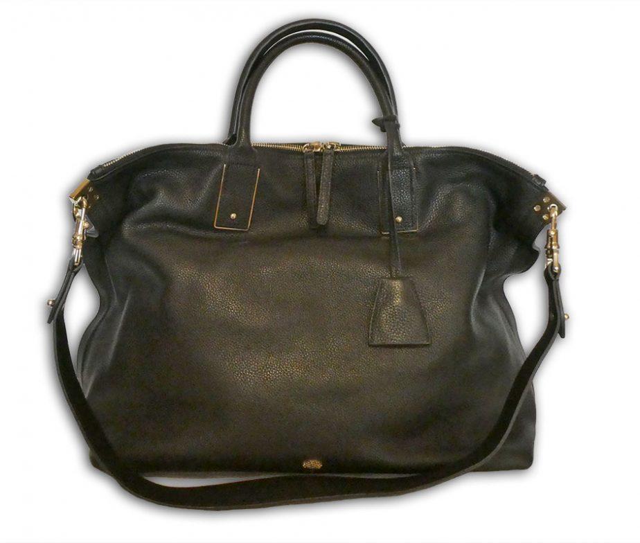 5342e35479 Mulberry black small classic grain leather large alice zipped tote ...