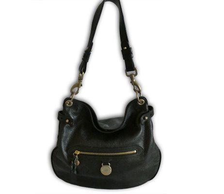 4c5641946c ... promo code for mulberry black pebbled leather somerset hobo shoulder bag  5a7d1 3a38c