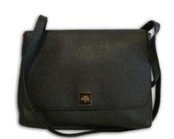 85c96d8f5b46 Mulberry black goat printed calfskin leather freya satchel shoulder bag    receipt