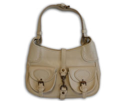 73fcfdf82bc8 Mulberry off white cream antique glace leather gerlinda shoulder bag