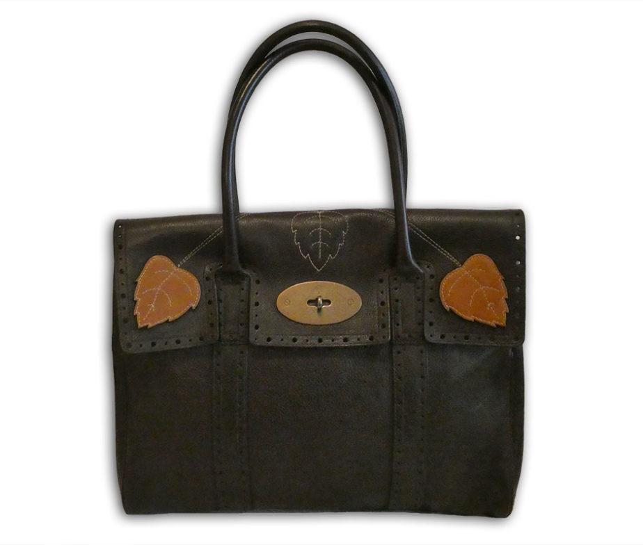 e7695da507 Mulberry chocolate darwin leather heritage classic ivy bayswater bag ...