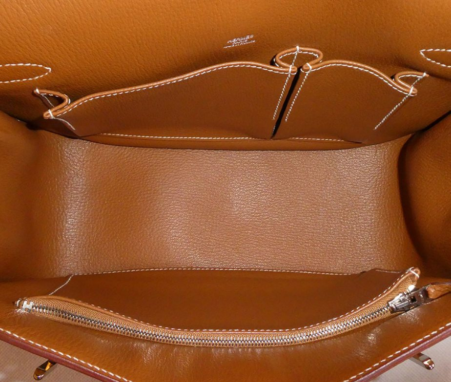 b7c7aa91074f Hermes gold tan togo leather jypsiere 28 shoulder bag with box ...