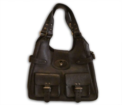 fdb18be219 Mulberry chocolate darwin leather annie shoulder bag - Labels Most ...