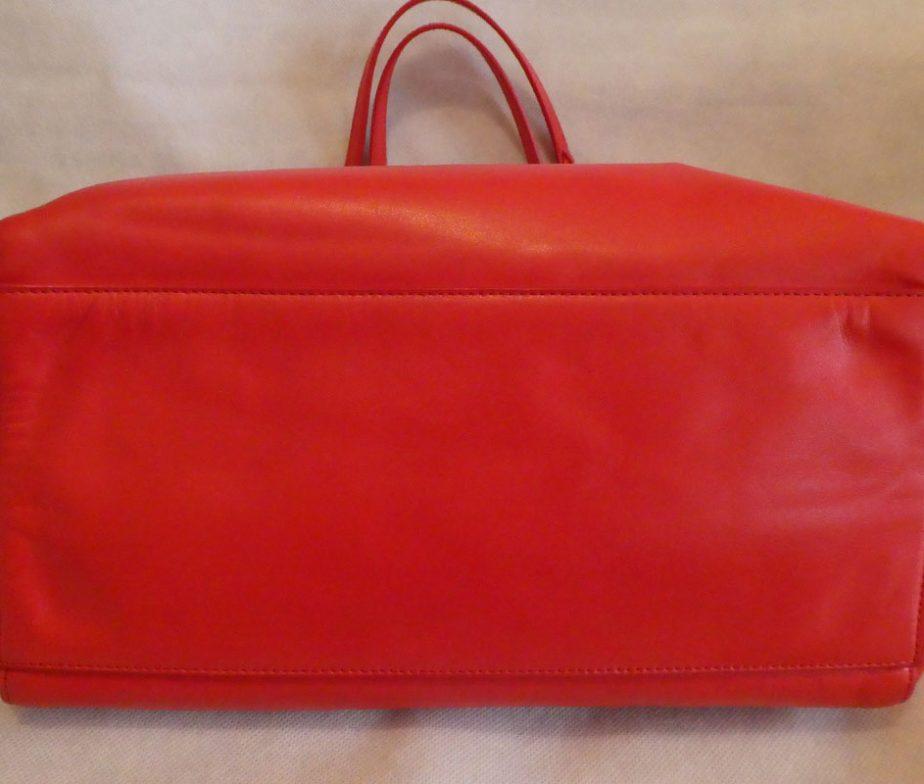 c2b6476506b Mulberry bright red nappa soft leather medium dorset tote shoulder ...