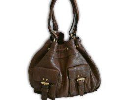 9a85c82ddb0fc5 Mulberry hazelnut brown plonge lambskin leather leah tote shoulder bag